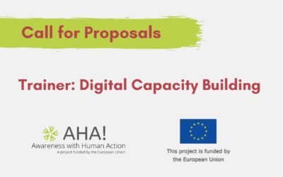 [Call for Proposals] Trainer for Digital Capacity Building