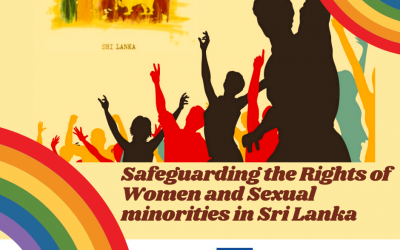 Celebrating Pride Month: Safeguarding the Rights of Women and Sexual Minorities in Sri Lanka